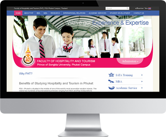 Website design & Web development, software outsourcing company in Phuket - Thailand